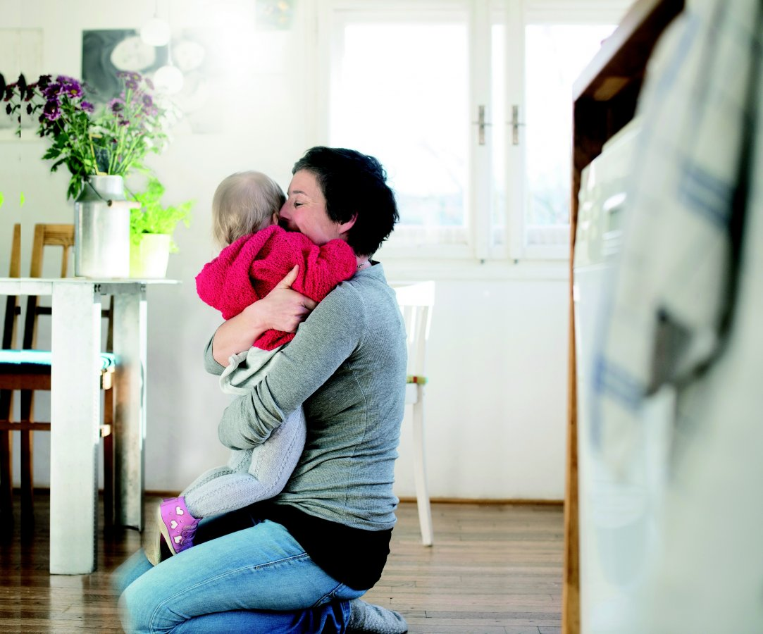 Mom and child Austria